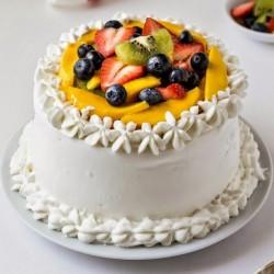 Fresh Fruit Creamy Cake [1kg]