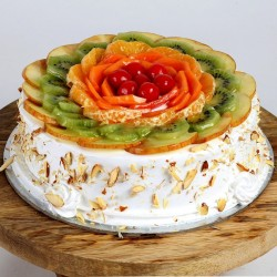 Simple Fresh Fruit Cake [500g]