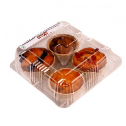 MUFFIN ASSORTED TROPICAL FRUIT (4PCS)