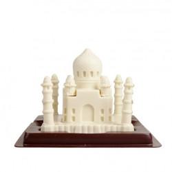 Chocolate Taj Mahal White