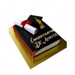 Phd Graduation Chocolate Cake