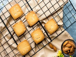 Butter Badaam Cookies [250 Gram]