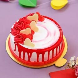 Delicious Strawberry Cake  [500 g]