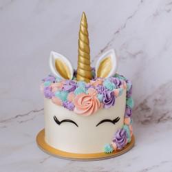 Pineapple Cake Unicorn Theme