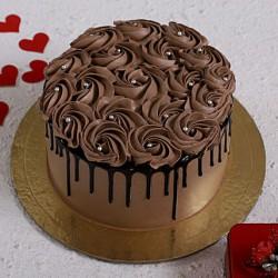 Chocolate Rose Cake [1kg]
