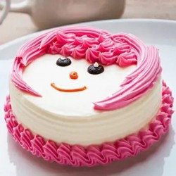 Cute Pineapple Cake  [500g]