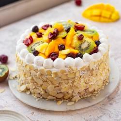 Fresh Fruit Flakey Cake [500g]