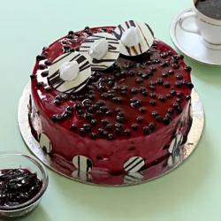 Glaze Blueberry Cake [500g]