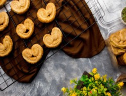 Heart French Cookies