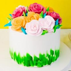 Designer Pineapple Cake [1kg]