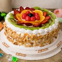 Fancy Special Fresh Fruit Cake