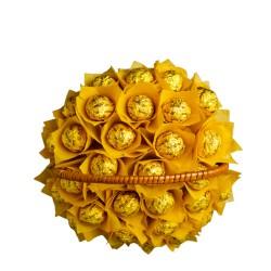 Chocolate Small Basket