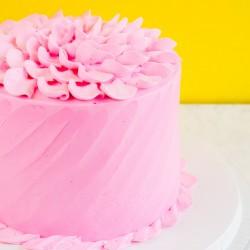 Pink Cream Strawberry Cake [1kg]