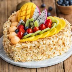 lovely Fresh Fruit Cake
