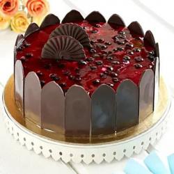 Decent Blueberry Cake