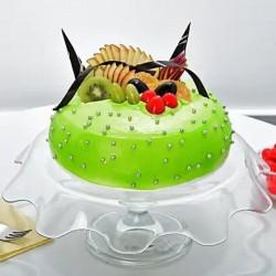 Green Fresh Fruit Cake [1kg]