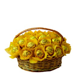 Chocolate Medium Basket