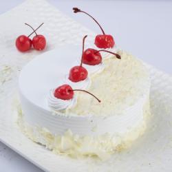 Cherry White Forest Cake