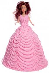 Pineapple Doll Cake