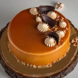 Pretty Butterscotch Cake [1kg]