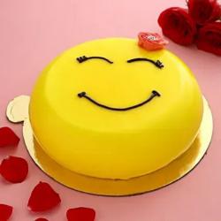 Smiley Pineapple Cake [1kg]