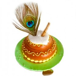 Morpankh Theme Chocolate Cake (500g)
