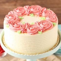 Rosy Pineapple Cake [1kg]